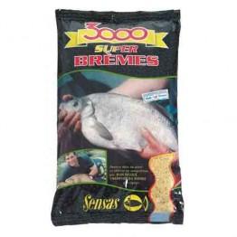 Прикормка Sensas 3000 Super Bremes 1 кг (Лещ)